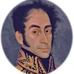 Retrato de Bolívar Original - Venezuela1811