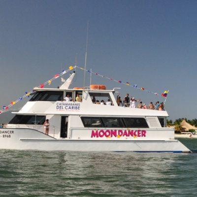 Isla de Coche en el Catamarán Moon Dancer
