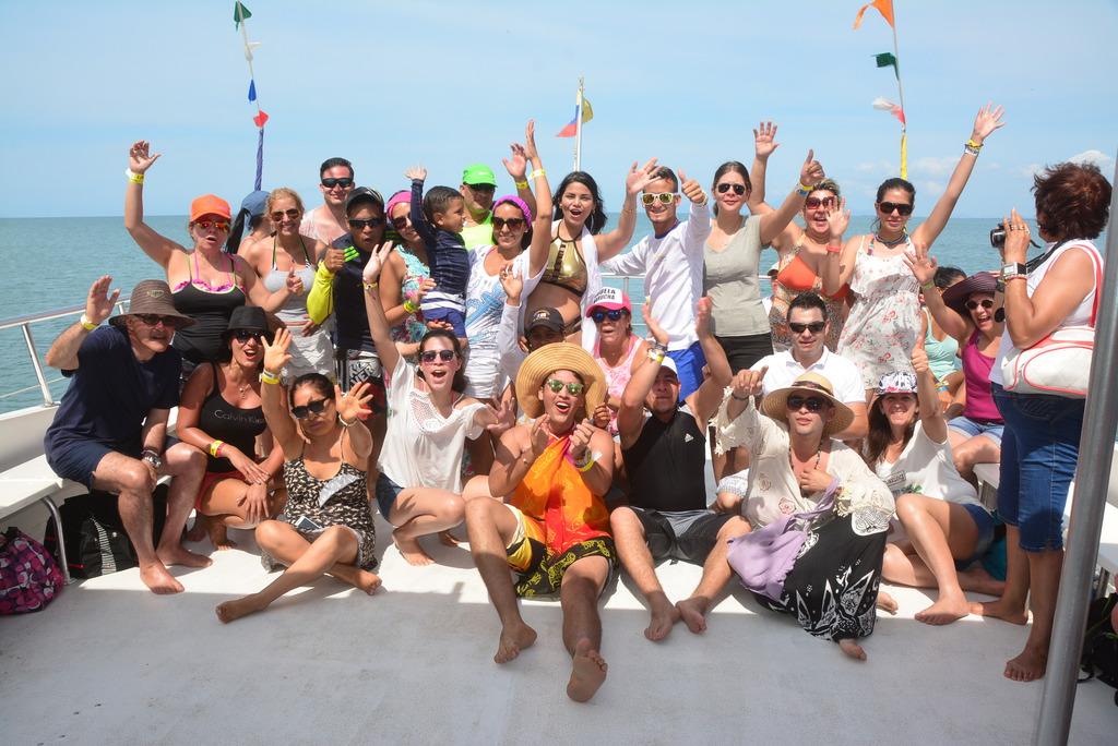 Isla de Coche en el Catamarán Caribe North Star en Margarita