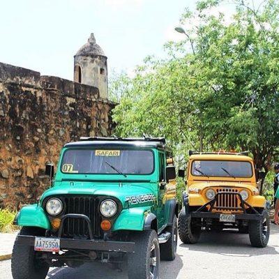 Travesía en Jeep con Techo y A/C por Margarita