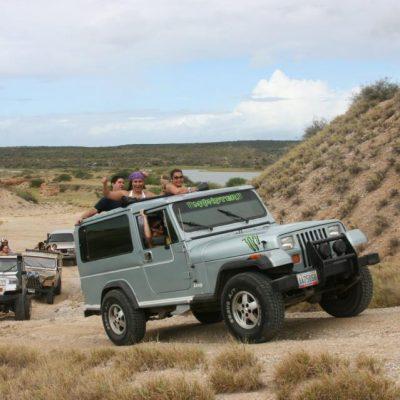 Travesía en Jeep sin Techo por Margarita