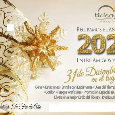 Paquete de Fin de Año en Tibisay Hotel Boutique En Mérida