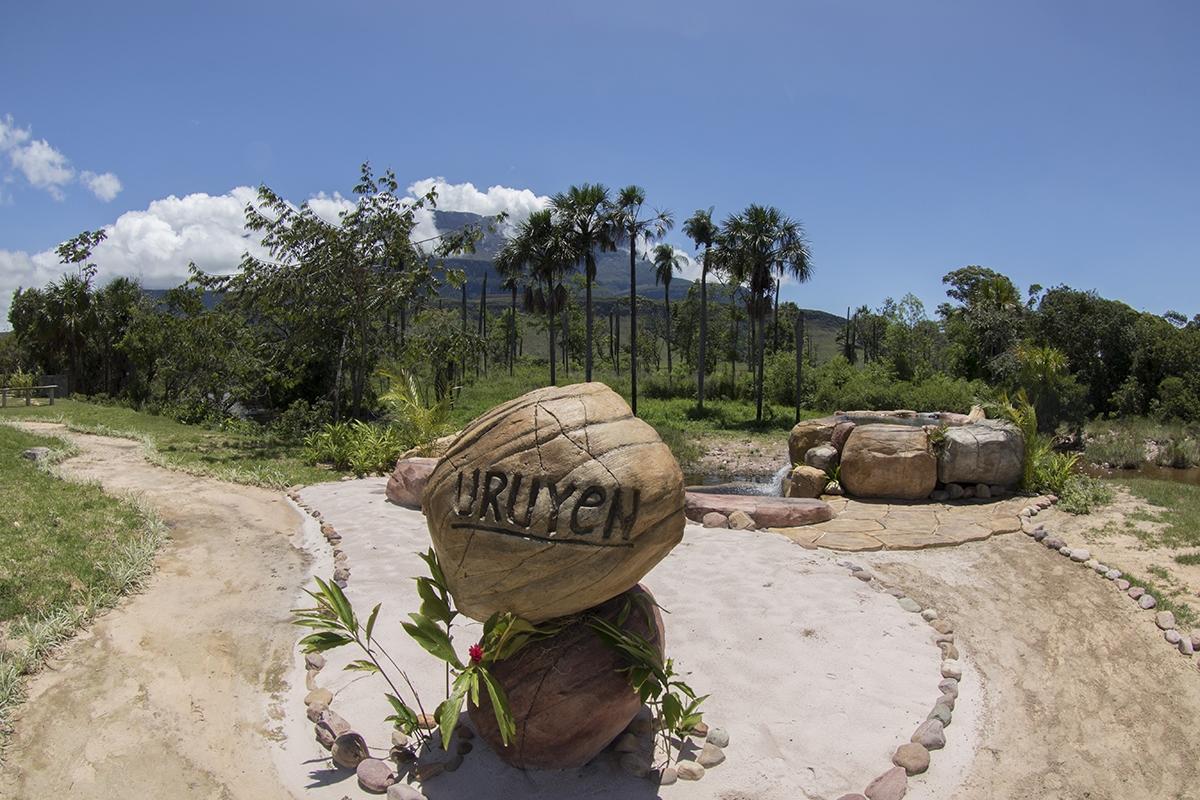 Campamento Uruyen en Canaima